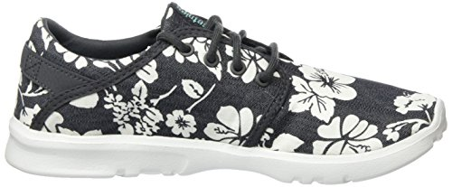 Etnies Scout W's, Chaussures de Skateboard Femme Noir - Schwarz (BLACK/ALOHA / 350)