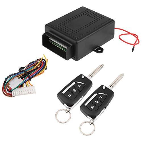 sugeryy Auto Schlüsselloses Zugangssystem Automatische Zentralverriegelung Universal Keyless Entry System Fernbedienung Alarm Zentralverriegelung Kit VH11P Universal-keyless-entry-system