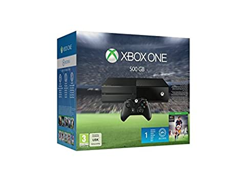Xbox One 500GB Console - EA Sports FIFA 16 Bundle