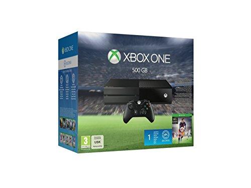 Xbox One 500GB Console - EA Sports FIFA 16 Bundle