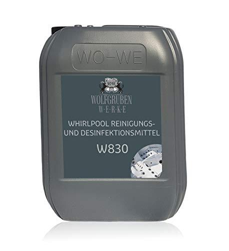 Whirlpoolreiniger Poolreiniger Reiniger Desinfektion Reinigungsmittel - 5L