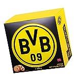 Borussia Dortmund Kekse, Butterkekse in schöner BVB 09 - Dose - Plus Lesezeichen I Love Dortmund