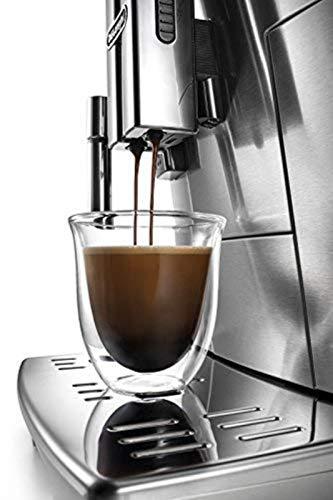 De'Longhi PrimaDonna S Evo ECAM 510.55.M Kaffeevollautomat (1450 W, Digitaldisplay, integriertes Milchsystem, APP Steuerung, Edelstahlgehäuse, Lieblingsgetränke auf Knopdfruck) silber