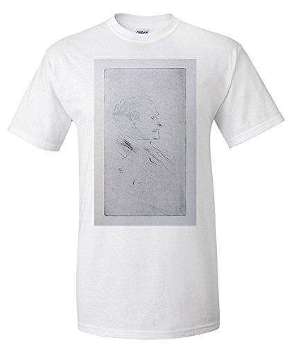 henri-de-toulouse-lautrec-1864-1901-by-maurice-joyant-c-vintage-poster-france-c-1926-premium-t-shirt