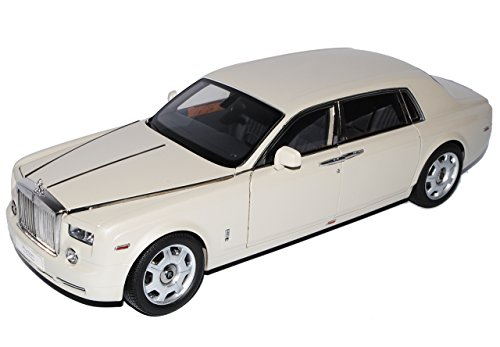Kyosho Rolls Royce Phantom EWB Carara Weiss 1/18 Modell Auto - Modell Phantom Rolls-royce