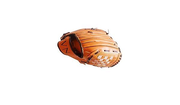 BS-SPORT-D Gants de Baseball Gants de Softball /Épaississent Pichet Infield Main Gauche pour Enfants Adulte 12.5