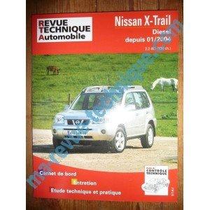 RRTA0685.1 – REVUE TECHNIQUE AUTOMOBILE NISSAN X-TRAIL Diesel 2.2 dCi 136cv depuis 01/2004