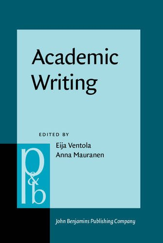 Academic Writing: Intercultural and textual issues (Pragmatics & Beyond New Series)