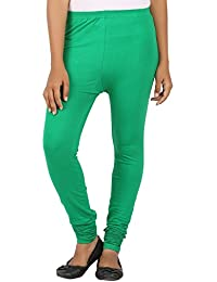 EAGLE Women Lite Green Leggings