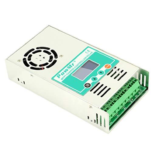 Baoblaze MPPT Regler Solarladeregler mit LED Display, 12V 24V 36V 48V, 30A-60A - 50A