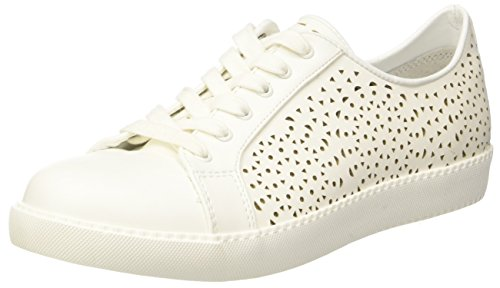 North Star 5411204, baskets montantes femme Bianco