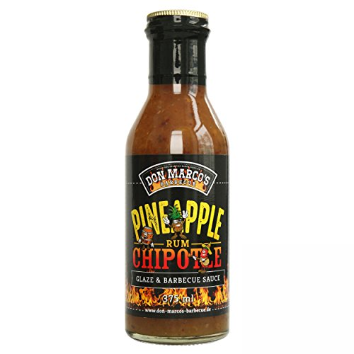 Don MarcoŽs Barbecue Pineapple Chipotle Rum Glaze Grillsoße 375ml