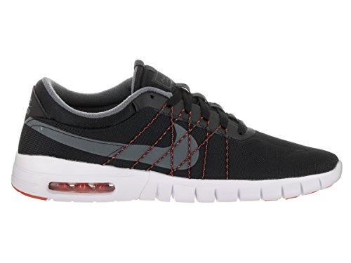Nike Mens SB Koston Max Skate Shoe Black/Dark Grey White