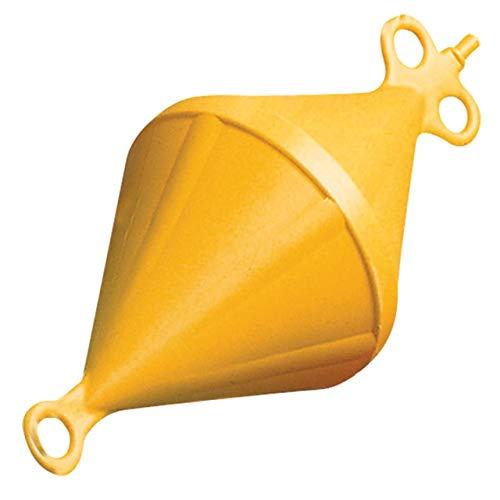 Nuova Rade Ø 220 x 540mm Markierungsboje Kegel Mooring Boje Ankerboje, Farbe:gelb