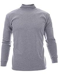 FLATSEVEN T Shirt Col Roulé Homme