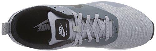 Nike Herren Air Max Tavas Hallenschuhe Grau (STEALTH/BLACK-DARK GREY-WHITE_018)
