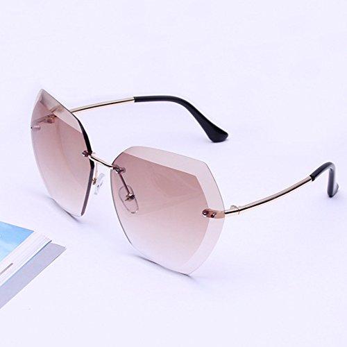 Lubier Damen Sonnenbrille Siehe Abbildung Middle