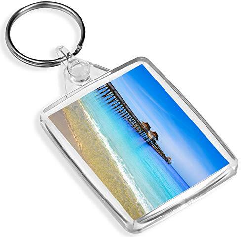 Naples Pier Florida Schlüsselanhänger - IP02 - Strand USA Amerika Ostküste Gift # 12625 -