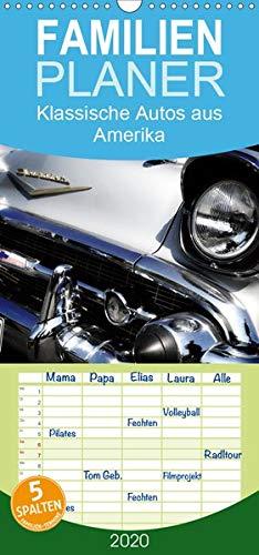 Made in the USA - Klassische Autos aus Amerika - Familienplaner hoch (Wandkalender 2020, 21 cm x 45 cm, hoch)