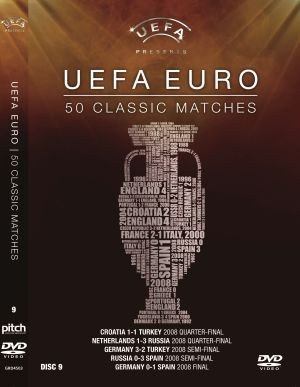 UEFA Euro 50 Classic Matches Vol. 9 Matches 41-45 [DVD]