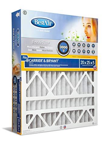 BestAir CB2025-13R Furnace Filter, 20