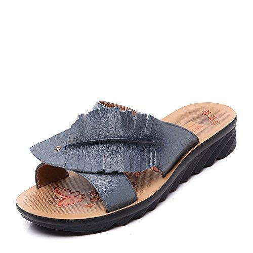 MS Word/Fin de pente avec chaussons chez les personnes âgées/Chaussures de maman/Pantoufles A