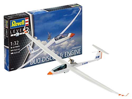 Revell Revell03961 Segelflugzeug Duo Diskus und Motor Modell Kit