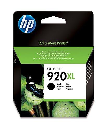 Original HP CD975AE / 920XL, Premium Drucker-Patrone, Schwarz, 1200 Seiten, 32 ml -