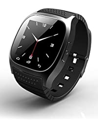 rwatch m26s Wearables reloj inteligente, Rastreador de Actividad Tracker/sueño/despertador para Android/iOS/Windows Mobile