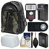 Best Deluxe Digital Dslrs - Canon 200EG Deluxe Digital SLR Camera Backpack Case Review