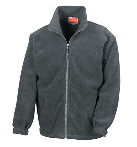 RT36A Active Fleece Jacket Oxford Grey