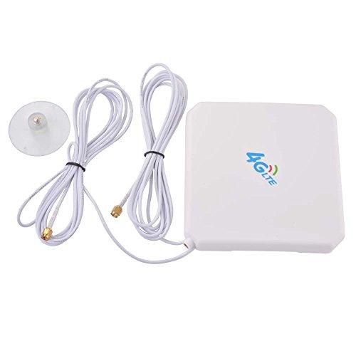 XCSOURCE® 4G Hochleistungs LTE Antenne 35dBi Netzwerk Ethernet Verstärker-Antenne Richtantenne Signalverstärker Verstärker (SMA Anschluss) BI467