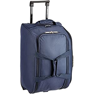 Pronto Miami Polyester 50 cms Navy Blue Travel Duffle (6572 – BL)