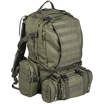 Mil-tec Od Defense Pack Assembly - Mochila de Senderismo, estilo militar, color