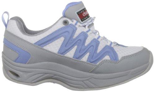 Chung Shi Comfort Step MAGIC Damen Walkingschuhe Weiss (Weiss/Blau) 1KsUt
