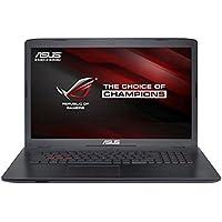 """Asus GL752VW-T4064T - Portátil de 17.3"""" (Intel Core i7-6700HQ, 8 GB de RAM, disco HDD de 1 TB, nVIDIA GeForce GTX960M) negro y gris - teclado QWERTY Español"""