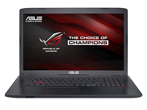 "ASUS GL752VW-T4065D - Ordenador portátil de 17.3"" Full HD (Intel Core i7-6700HQ, 16 GB de RAM, HDD de 1000 GB, NVIDIA GeForce GTX 960M with 2G/4G GDDR5 VRAM), negro y gris"