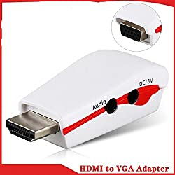 Technotech HDMI to VGA Adapter Converter With Power & Audio