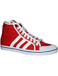 best sneakers 3195f 601d2 Adidas HONEY STRIPES MID W Scarpe Sneakers Moda Rosoo Bianco per Donna