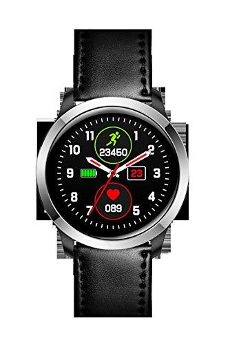 EKG-Smart Watch, ECG + PPG Sports wasserdichte Armband, HRV Bericht Blutdruck Herzfrequenz-Test, schwarz Tisch