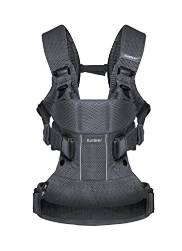 BABYBJÖRN Baby Carrier One Air Anthracite, Mesh