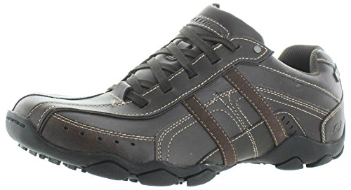 Skechers Diameter-Murilo, Chaussures de Tennis Homme Brn