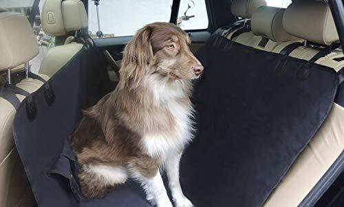 Housse de siège arriere pour chien, universelle, impermeable et divisible MY BACK SEAT PROTECTOR TO GO protection banquette voiture résistant aux rayures, protège contre liquides et poils