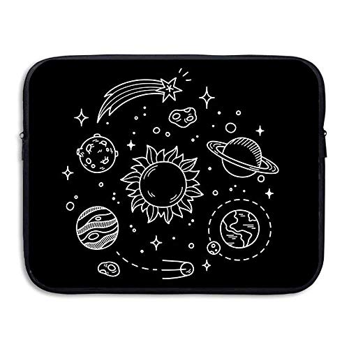 Laptop Sleeve Bag Planets Cover Computer Liner Package Protective Case Waterproof Computer Portable Bags -