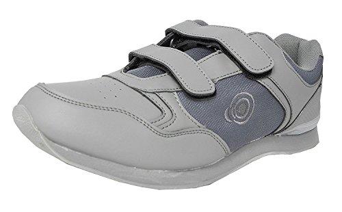 Dek Drive & Jack Chaussures de Bowling pour homme Grey - Velcro