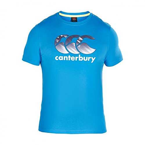 CANTERBURY Herren CCC Logo T-Shirt–Total Eclipse Atomic Blue