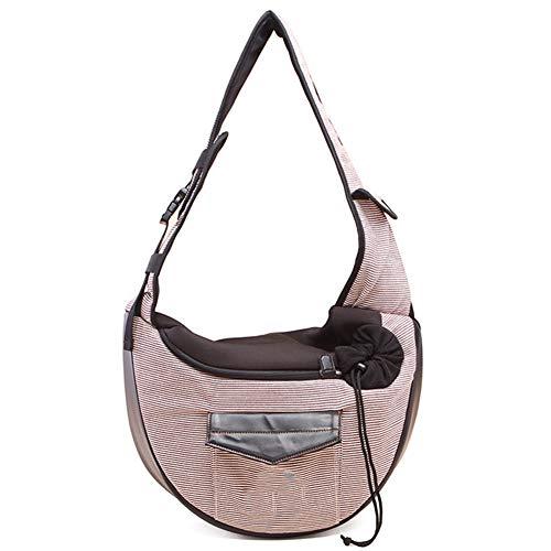 FAMLYJK Pet Carrier Backpack - Exklusive Taschen-Designs für Welpen, kleine Hunde, Katzen. Genießen Sie Ihre Haustiertragetasche überall,C