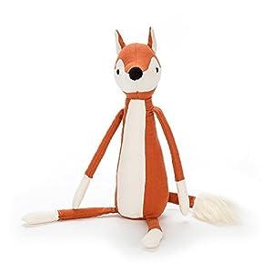 Jelly Cat- Skandoodle Fox Peluche Soft, (Jellycat SK4F)