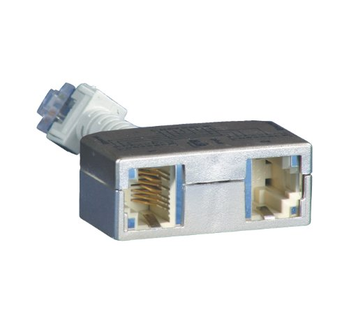 03 Adapter (BTR Cable sharing Adapter pnp 3 2er Set Ethernet-Ethernet VE = 2 Ethernet-Ethernet)
