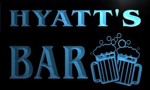 w001791-b-hyatts-nom-accueil-bar-pub-beer-mugs-cheers-neon-sign-biere-enseigne-lumineuse